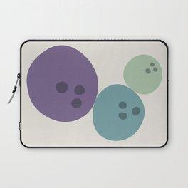 Abstract No.15 Bowling Balls Laptop Sleeve