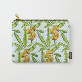 Banana tree palm leaves fruit Carry-All Pouch