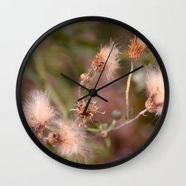 The Mimosa Wall Clock