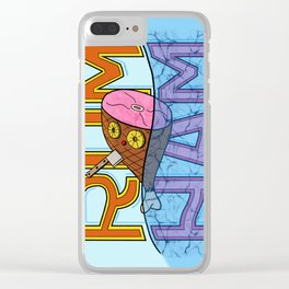 Rum Ham Clear iPhone Case