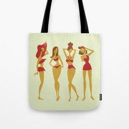 Brunette Beauties Tote Bag