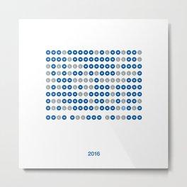 2016 Metal Print