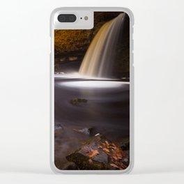 Lady Falls Sgwd Gwladus waterfall Clear iPhone Case