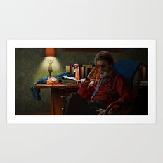 Dr Jacoby Art Print