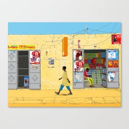 Kaolack Canvas Print