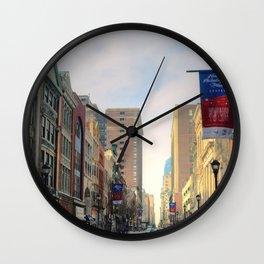 Philliedelphia photography Wall Clock