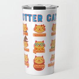 Harry Cats Travel Mug