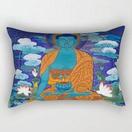 Medicine Buddha Rectangular Pillow