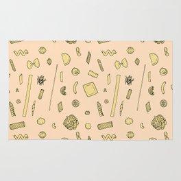 Pasta pattern Rug
