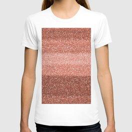 Rose Gold Sparkle T-shirt