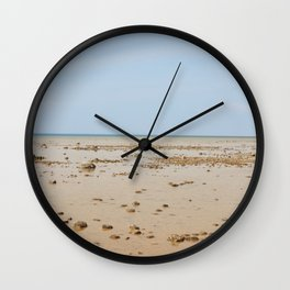 Sun and Sand Color Nature Photography Wall Clock
