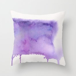 Liquid galaxy Throw Pillow
