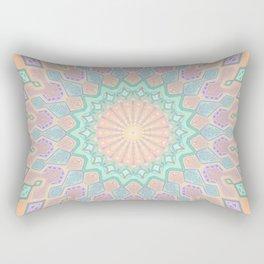 Crystal Magic - Mandala Art Rectangular Pillow
