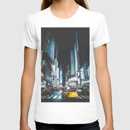 New York city night T-shirt