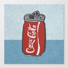 COKE 4EVR Canvas Print