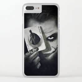The Joker Clear iPhone Case