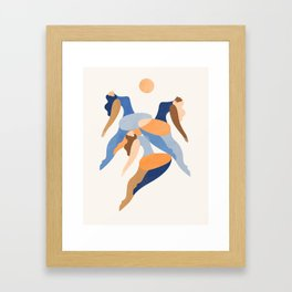 Sun Chasers Framed Art Print