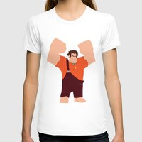 wreck it ralph T-shirts featuring Wreck-It Ralph by George Hatzis