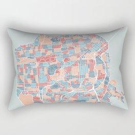 San Francisco modern map Rectangular Pillow