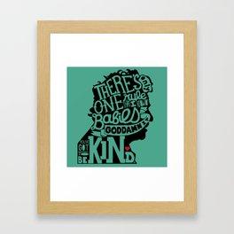 Be Kind, Babies Framed Art Print