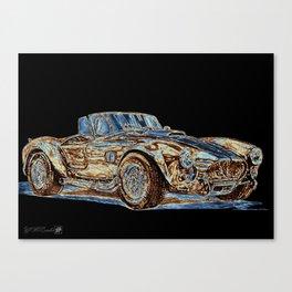 1965 Shelby AC Cobra Canvas Print