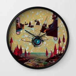 Alpha Kinesis Wall Clock