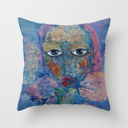 Dreaming about the sea Throw Pillow