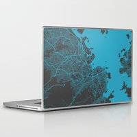 rio Laptop & iPad Skins featuring Rio by Map Map Maps