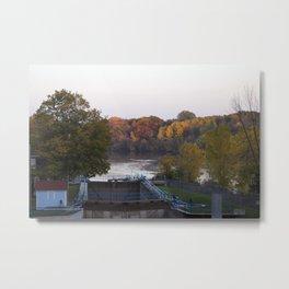 Autumn in Wisconsin Metal Print