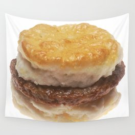 Sausage Biscuit Wall Tapestry
