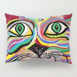 Grinning Cat Pillow Sham