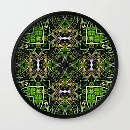 Focus Green Wall Clock