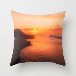 Sun Down Throw Pillow