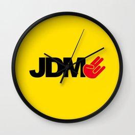 JDM shocker v3 HQvector Wall Clock