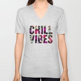 Chill Vibes (SM17) Unisex V-Neck
