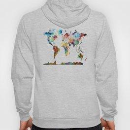 World map Hoody