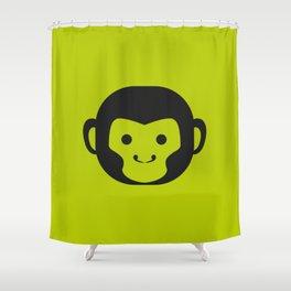 Monkey Head Shower Curtain