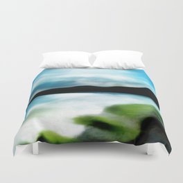 """Almeria Beach - Coast of Spain"" (Cabo de Gata) Duvet Cover"