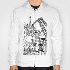 Three City Silhouettes Hoody