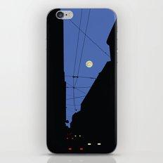 Moon lines iPhone Skin