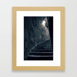 Stairway to Heathens Framed Art Print