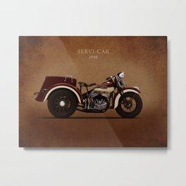 Harley Servi-Car Metal Print