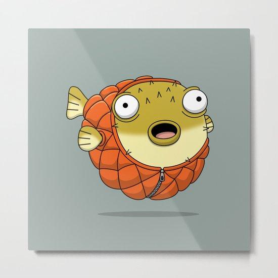 Puffer fish Metal Print