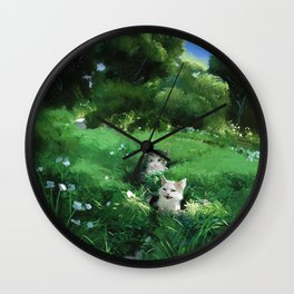 Internet Cats Wall Clock