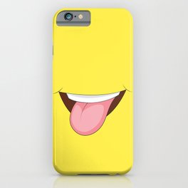 Stick Out Tongue iPhone Case