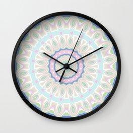 kaleidoscope #mandala #ornament Wall Clock