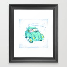 We're Doing Donuts!  Framed Art Print