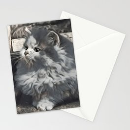 Fur Ball Stationery Cards