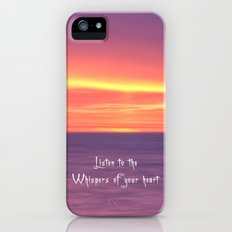 Whispers of your heart Slim Case iPhone (5, 5s)