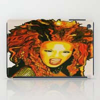 spice iPad Cases featuring Scary Spice by The Expression Studio